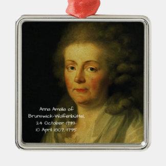 Ornamento De Metal Anna Amalia de Brunsvique-Wolfenbuttel 1795