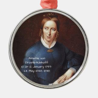 Ornamento De Metal Annette von Droste-Hulshoff 1838