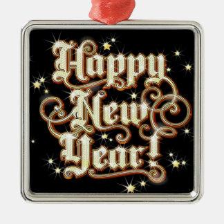 Ornamento De Metal Ano novo chamativo