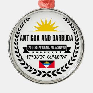Ornamento De Metal Antígua e Barbuda