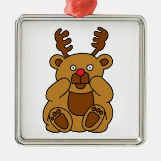 Ornamento De Metal Antlers do urso