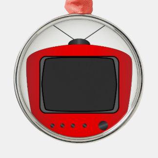 Ornamento De Metal Aparelho de televisão velho