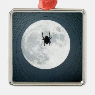 Ornamento De Metal Aranha da lua