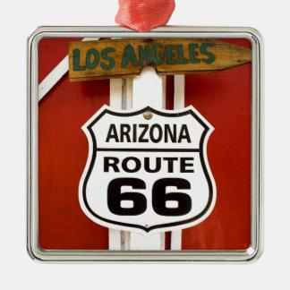 Ornamento De Metal Arizona EUA de Seligman da rota 66