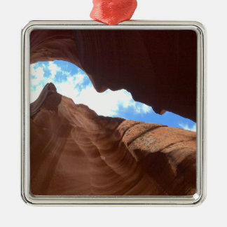 Ornamento De Metal ARIZONA - garganta superior B do antílope - rocha