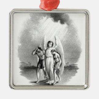 Ornamento De Metal Arquétipo do anjo
