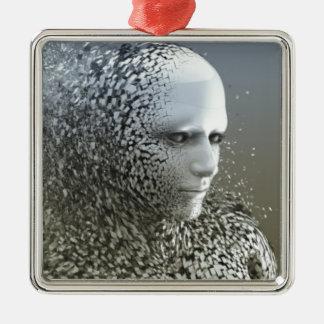 Ornamento De Metal Arte abstracta humana
