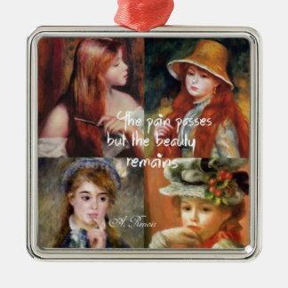 Ornamento De Metal Arte, beleza e amor em pinturas de Renoir