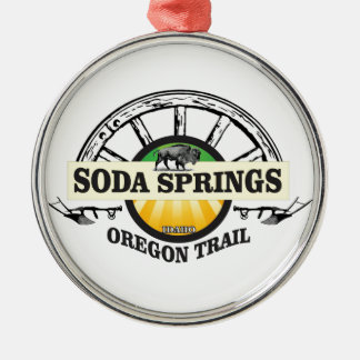 Ornamento De Metal arte da fuga de Soda Springs oregon