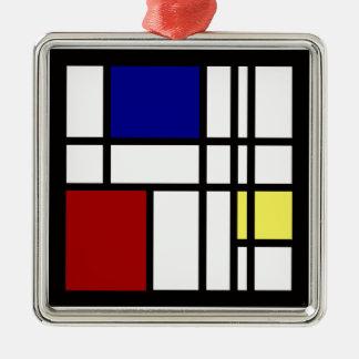 Ornamento De Metal Arte da impressão de Mondrian