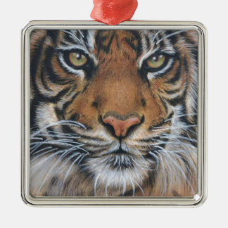Ornamento De Metal Arte do animal dos animais selvagens do tigre