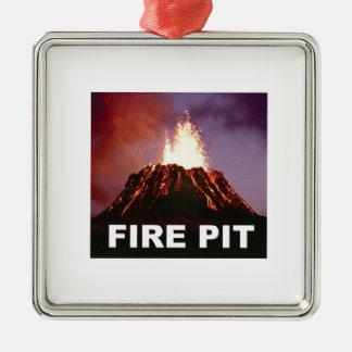 Ornamento De Metal arte do poço do fogo