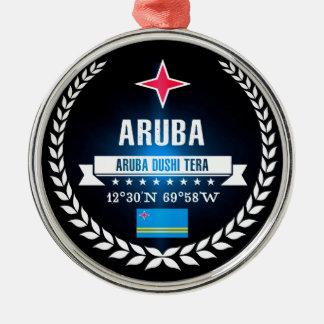 Ornamento De Metal Aruba