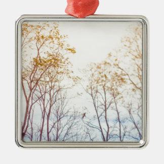 Ornamento De Metal Árvores do inverno