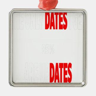 Ornamento De Metal As únicas datas onde eu obtenho são actualizações