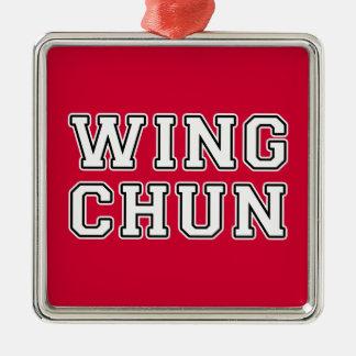 Ornamento De Metal Asa Chun