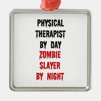 Ornamento De Metal Assassino do zombi do fisioterapeuta