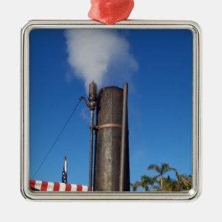 Ornamento De Metal Assobio de vapor antiquado