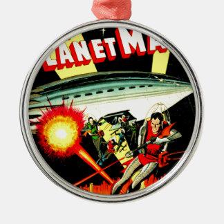 Ornamento De Metal Ataque no planeta Marte