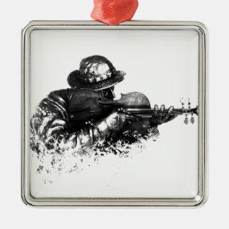Ornamento De Metal atirador furtivo do violino