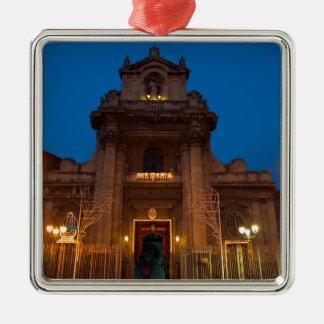 Ornamento De Metal Ave Maria Church em Catania