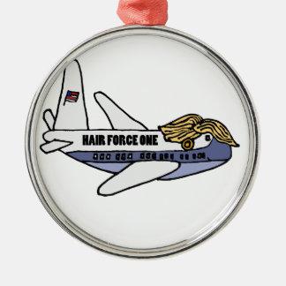 Ornamento De Metal Avião presidencial engraçado de Donald Trump