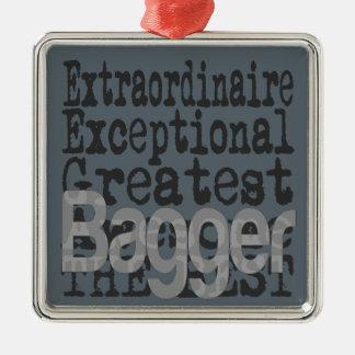 Ornamento De Metal Bagger Extraordinaire