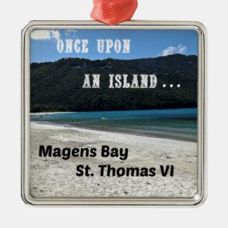 Ornamento De Metal Baía de Magens, St Thomas VI