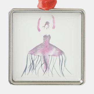 Ornamento De Metal Bailarina das medusa - Annette
