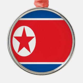 Ornamento De Metal Baixo custo! Bandeira da Coreia do Norte