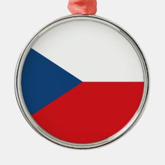 Ornamento De Metal Baixo custo! Bandeira da república checa