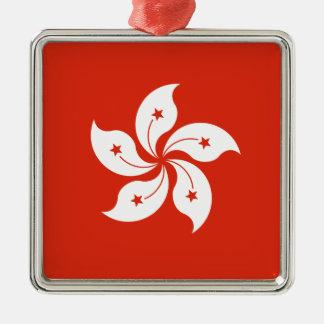 Ornamento De Metal Baixo custo! Bandeira de Hong Kong