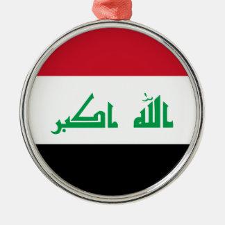 Ornamento De Metal Baixo custo! Bandeira de Iraque