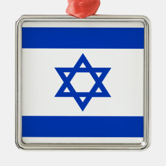 Ornamento De Metal Baixo custo! Bandeira de Israel