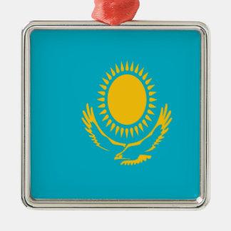 Ornamento De Metal Baixo custo! Bandeira de Kazakhstan