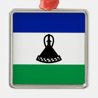 Ornamento De Metal Baixo custo! Bandeira de Lesotho
