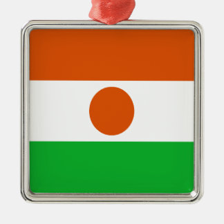 Ornamento De Metal Baixo custo! Bandeira de Niger