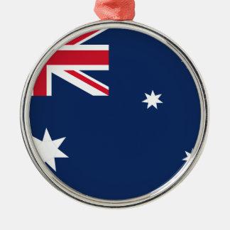 Ornamento De Metal Bandeira australiana