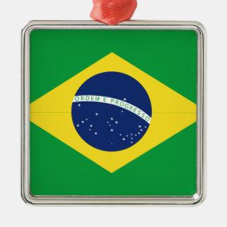 Ornamento De Metal Bandeira brasileira