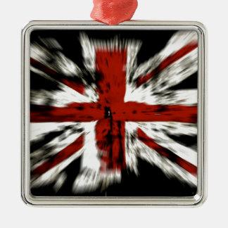 Ornamento De Metal Bandeira britânica