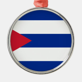 Ornamento De Metal Bandeira cubana - bandera Cubana - bandeira de
