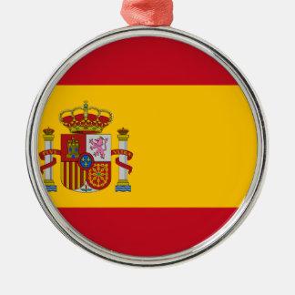 Ornamento De Metal Bandeira da espanha - Bandera de España - bandeira