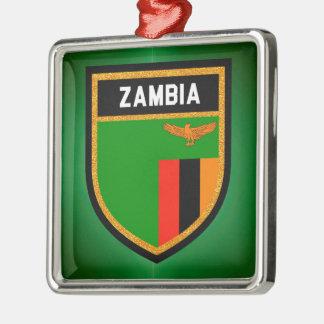 Ornamento De Metal Bandeira da Zâmbia