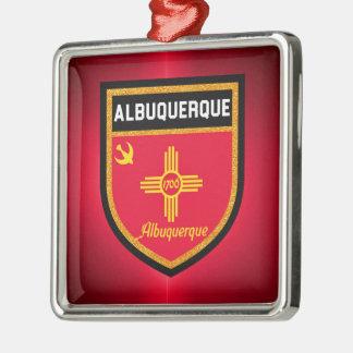 Ornamento De Metal Bandeira de Albuquerque