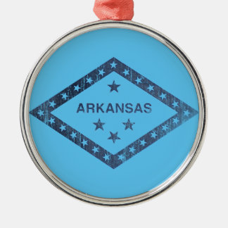 Ornamento De Metal Bandeira de Arkansas