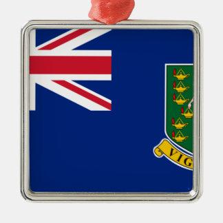 Ornamento De Metal Bandeira de British Virgin Islands