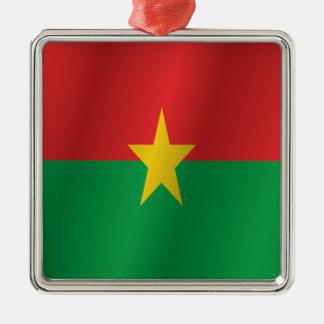 Ornamento De Metal Bandeira de Burkina Faso