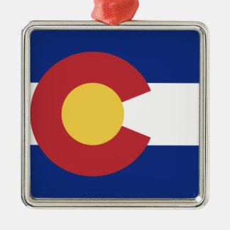 Ornamento De Metal Bandeira de Colorado