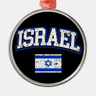 Ornamento De Metal Bandeira de Israel