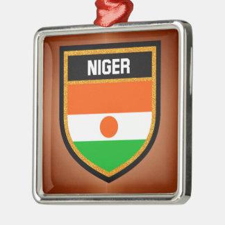 Ornamento De Metal Bandeira de Niger